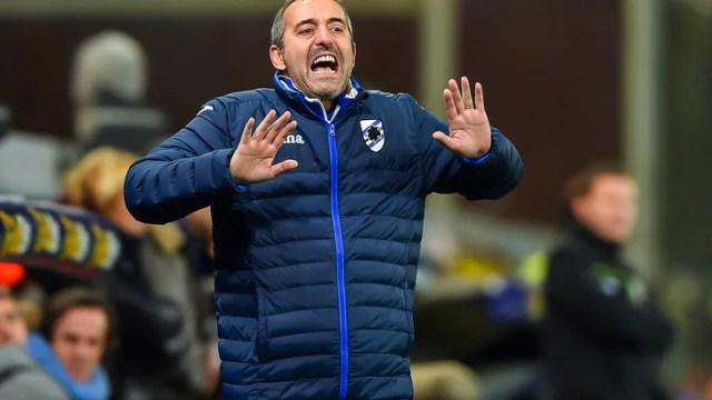 Serie A Sampdoria, Giampaolo: «La Lazio è più forte di quanto immaginavo»