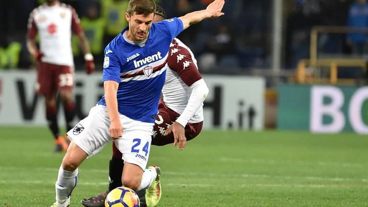 Serie A Sampdoria fisioterapia palestra e piscina per Bereszynski  Tuttosport