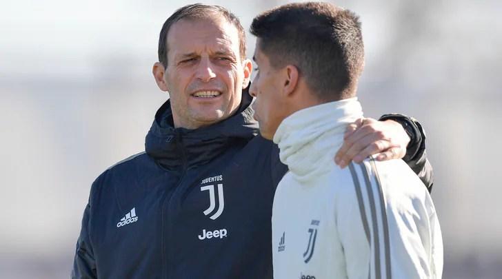 Juventus, Cancelo torna ad allenarsi parzialmente in gruppo