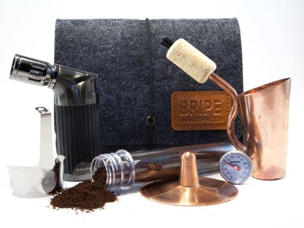 Special Holiday Pricing Bripe Coffee Brew Pipe Kit And