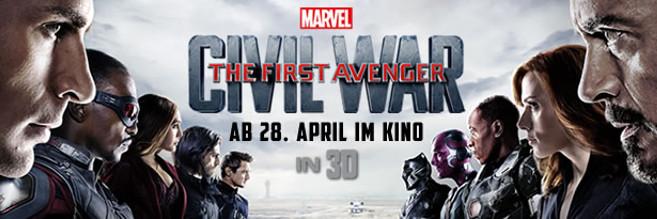 Grafik: The First Avenger: Civil War