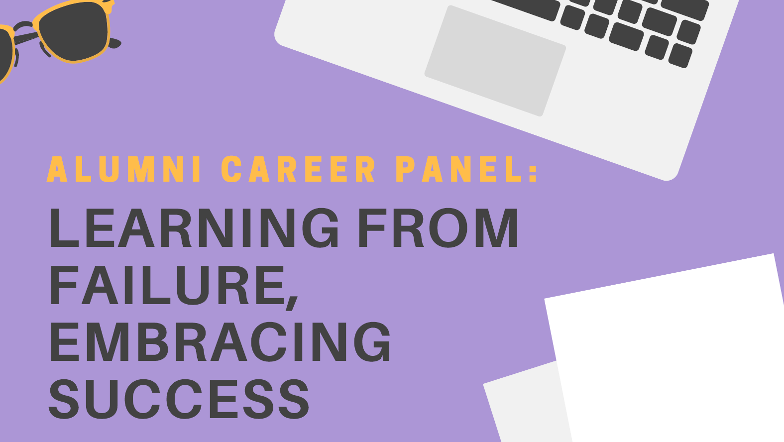 Alumni Career Panel Learning From Failure Embracing