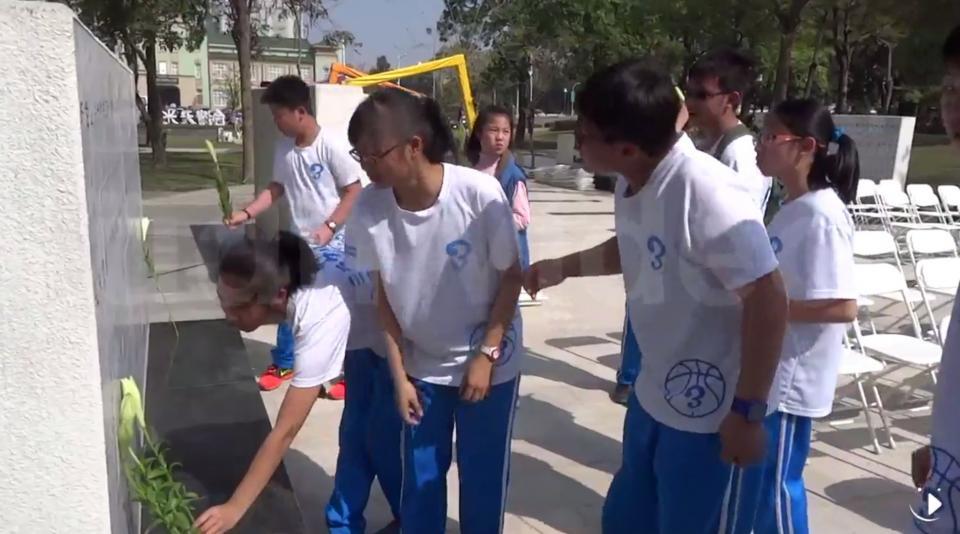 為更了解臺灣 雲林國中生參加228追思   綜合   聯合影音