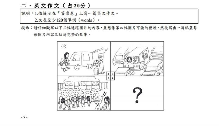 學測/英文作文考開車出遊遇塞車 師:偏鄉生只能想像 | 生活 | 聯合影音