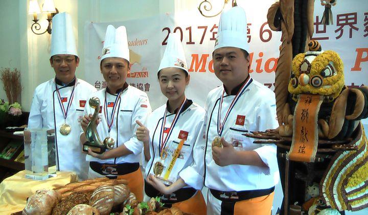 世界麵包大賽臺灣奪冠 藝術麵包「祥獅獻瑞」驚豔國際 | 生活 | 聯合影音