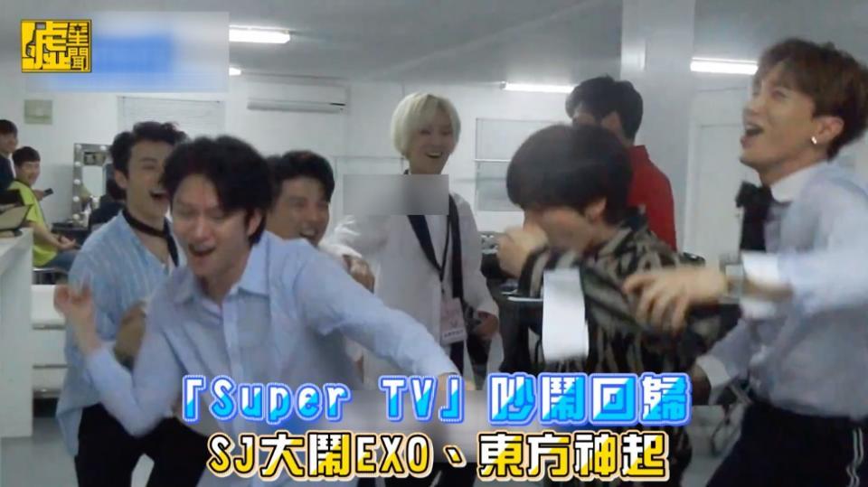 「Super TV」吵鬧回歸 SJ大鬧EXO、東方神起   娛樂   聯合影音