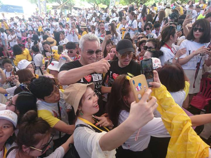 兌現「大哥」的承諾 林瑞陽的大陸千人遊宜蘭團來了 | 娛樂 | 聯合影音