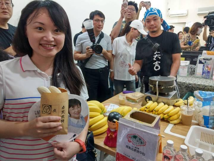 高雄綠委劉世芳 邀廣德家香蕉煎餅來左楠 | 綜合 | 聯合影音