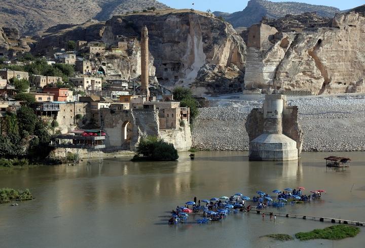 影/伊利蘇大壩完工在即 土耳其萬年古鎮將沉入水底   國際   聯合影音