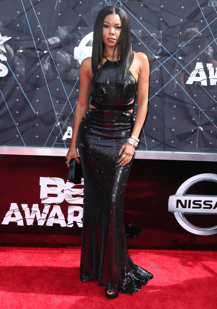 Get The Look BET Awards Gabrielle Unions Sultry Look In