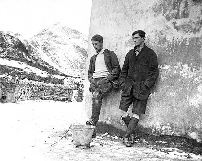 Siegfried Herford and George Mallory