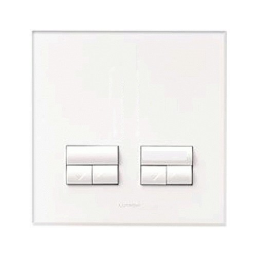 Lutron Dual Rania Accessory 250W AW Faceplate at UK