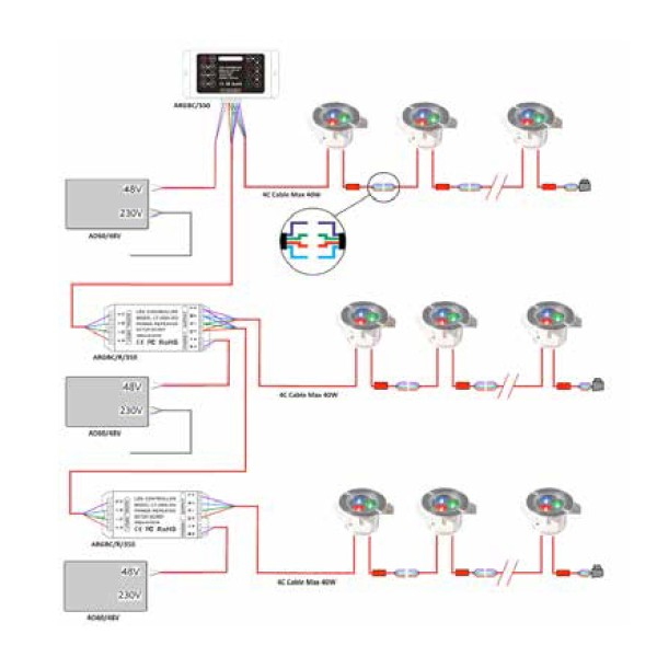 aico smoke alarm wiring diagram 2004 gmc sierra radio led 12v free for you ansell rgb 350ma repeater at uk electrical supplies lights driving