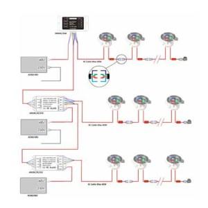 Wiring Diagram Bathroom Downlights  camizu