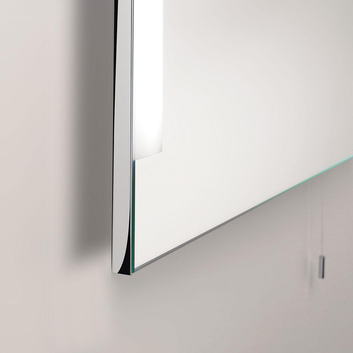 Astro Imola 800 Polished Chrome Bathroom Mirror Light at