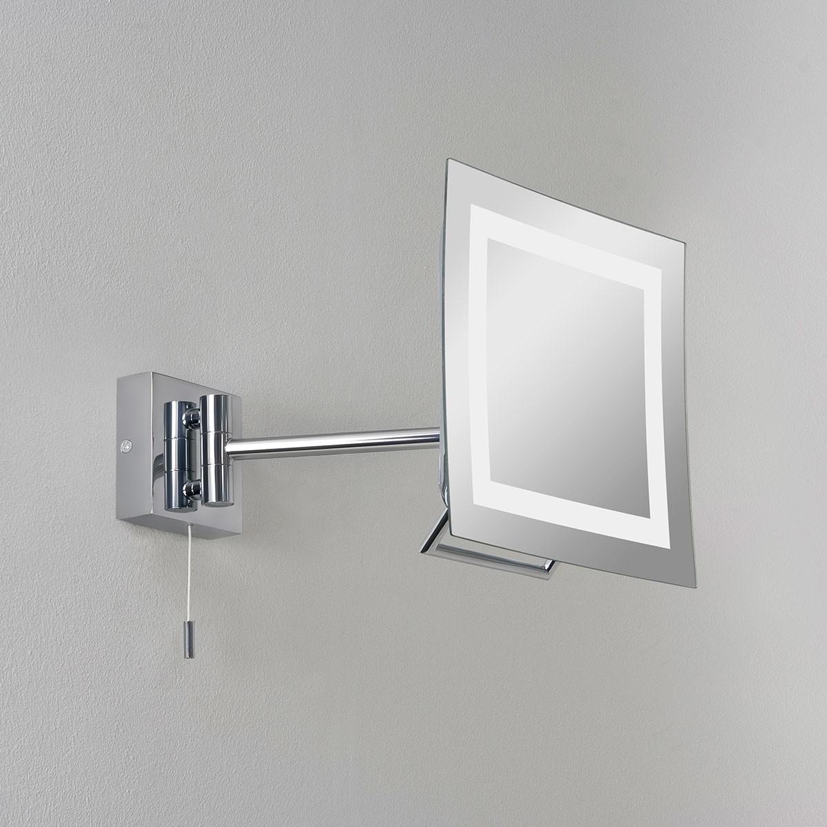 Astro Niro Polished Chrome Bathroom Mirror Light at UK