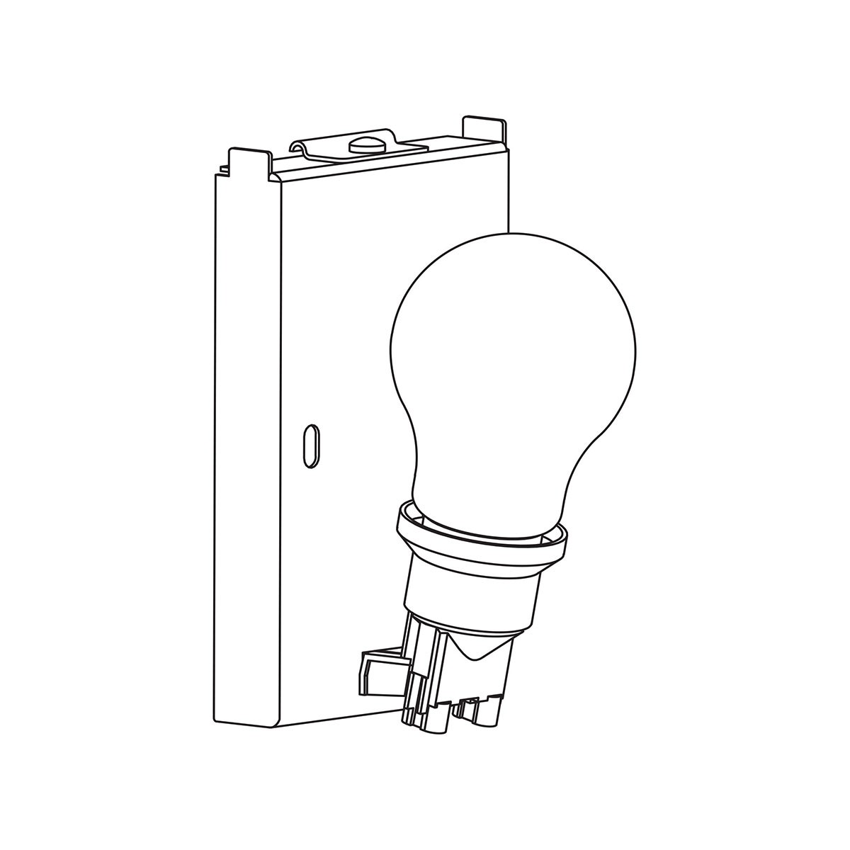 Astro Backplate 3 Angled Single Wall Light At Uk Electrical Supplies