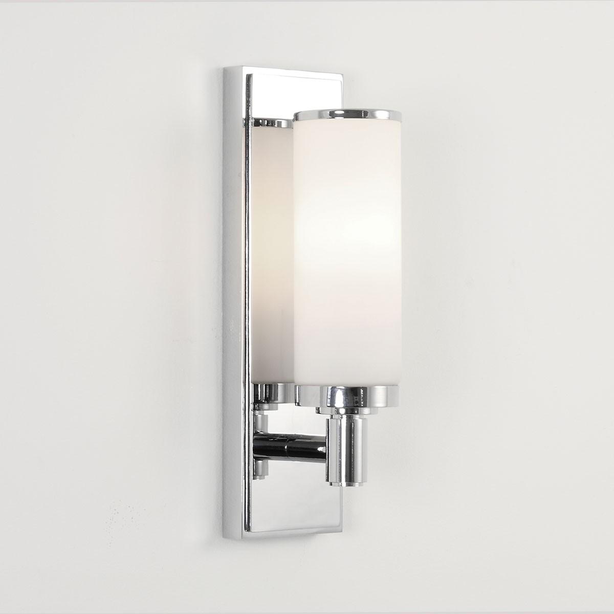Astro Verona Polished Chrome Bathroom Wall Light at UK