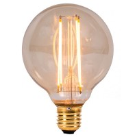 Bell Lighting Vintage 4W Warm White Non-Dimmable E27 Amber ...