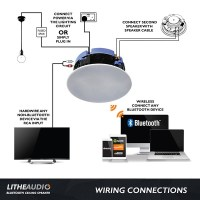 Lithe Audio Bluetooth Ceiling Speaker at UK Electrical ...