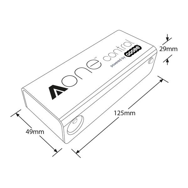 Aurora Lighting AOne 120W ZigBee Wireless In-line Dimmer