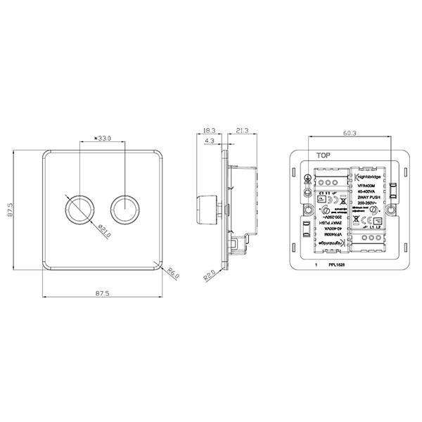 [Get 24+] 2 Gang 2 Way Dimmer Switch Wiring Diagram