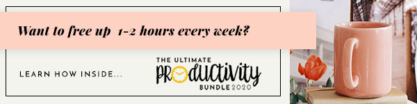 Ultimate Productivity Bundle 2020