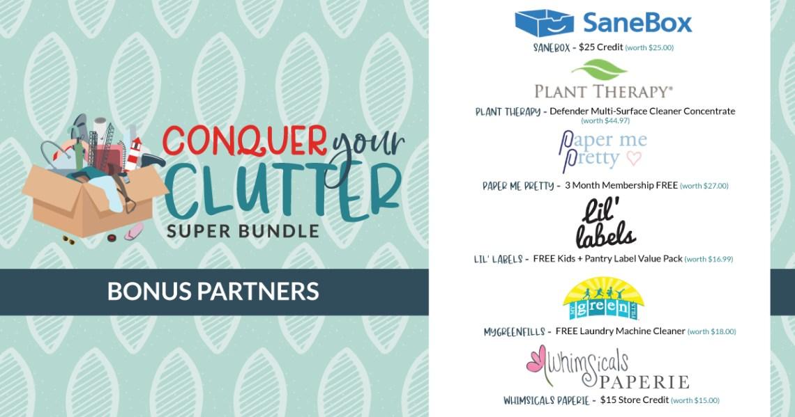 Conquer Your Clutter Super Bundle 2021