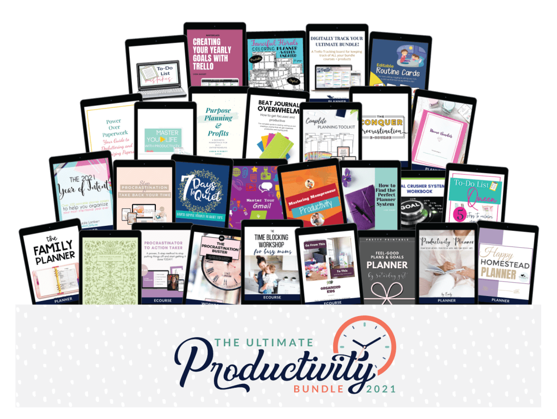 Ultimate Productivity Bundle 2021