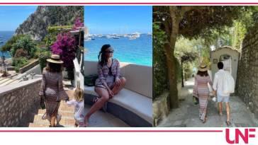 Caterina Balivo a Capri realizza di nuovo il suo sogno