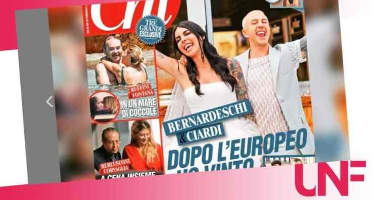 Dopo il matrimonio per Veronica Ciardi e Bernardeschi arriva il terzo figlio?