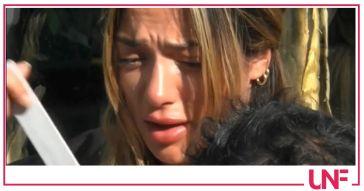 Soleil Sorge in crisi, Gianmaria Antinolfi capisce che sta male e la consola (VIDEO)