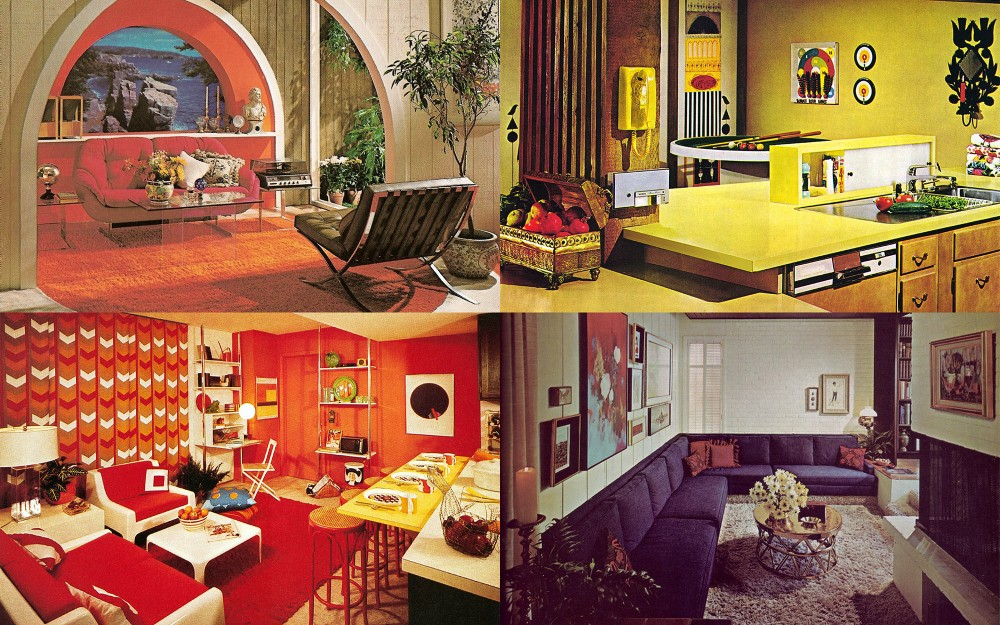Interior Five Common 1970s Decor Elements Ultra Swank