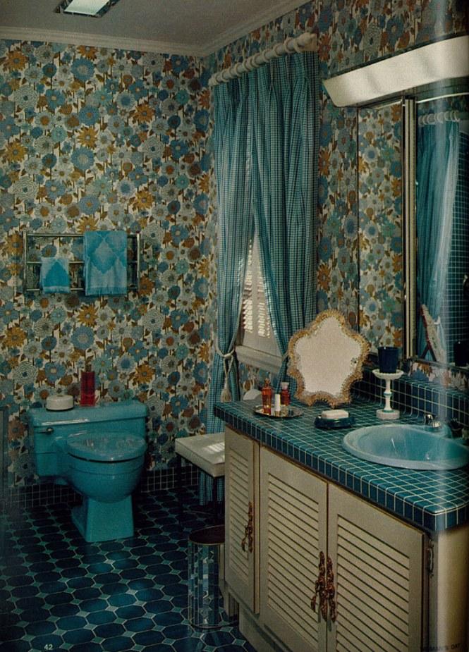 Traditional Bathroom Vintage