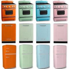 Teal Kitchen Appliances Seamless Flooring Design Return Of The Retro Ultra Swank