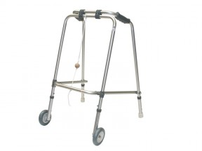 Walking Frame Folding, Cooper, with Wheels & Gliders
