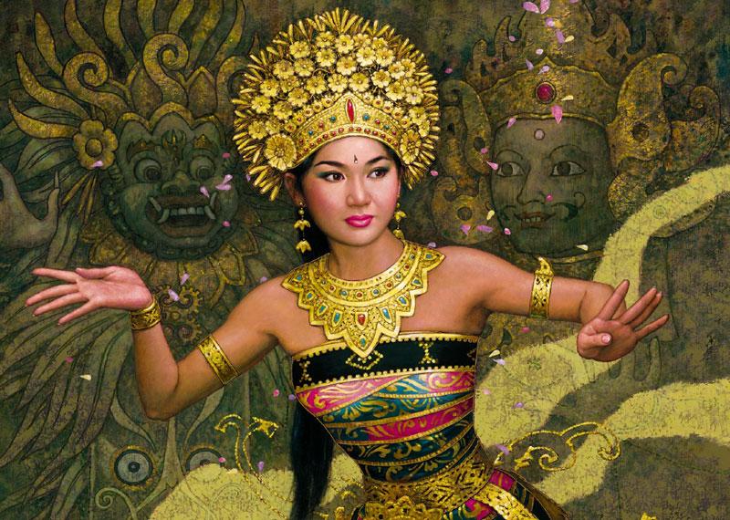 bali dancer karl bang