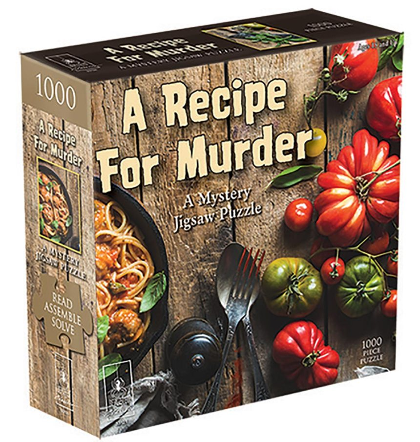 Recipe for Murder Murder Mystery Jigsaw Puzzle