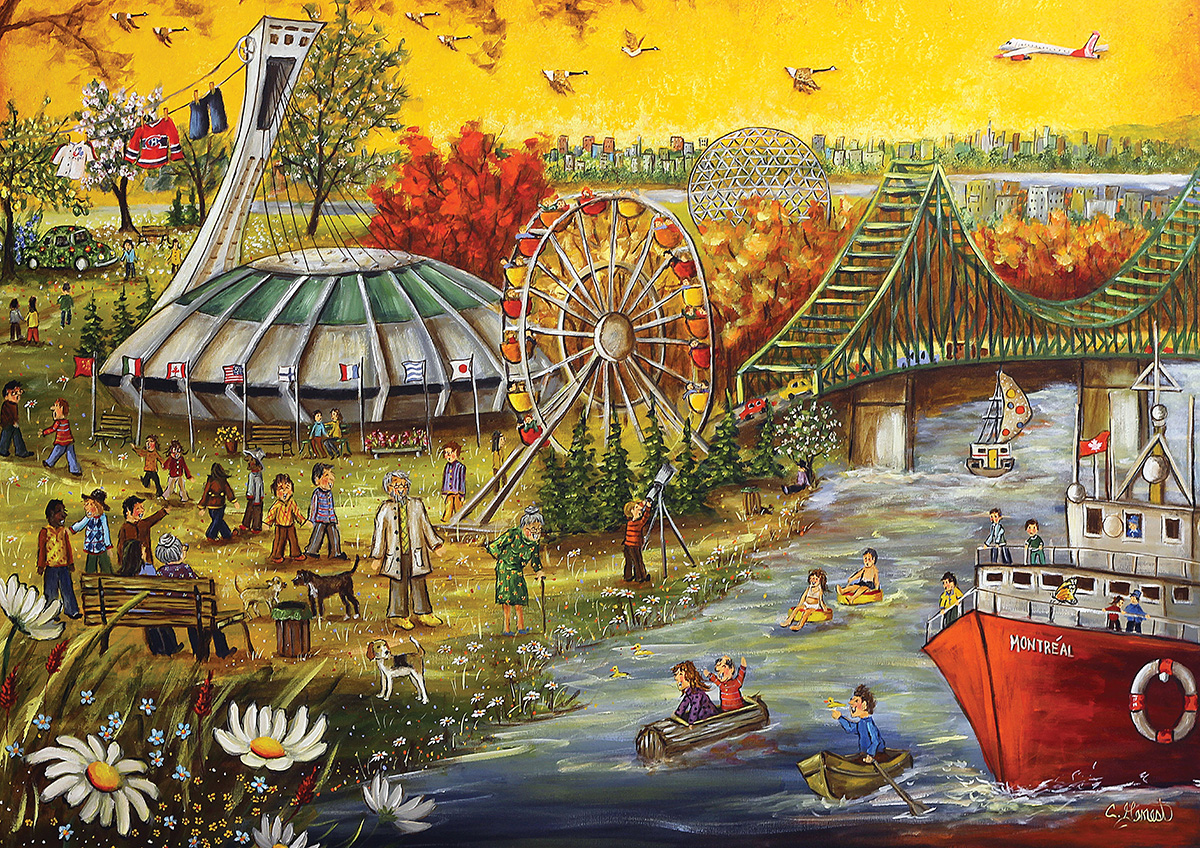 Montreal Jigsaw Puzzle