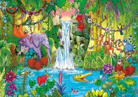 Magical Jungle Jigsaw Puzzle | PuzzleWarehouse.com