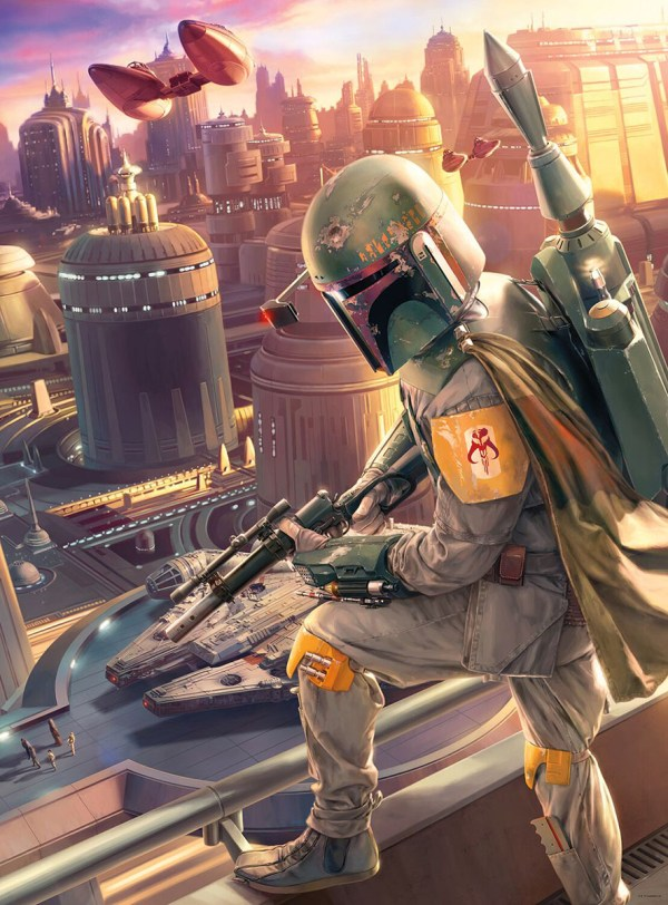 Star Wars Fine Art Collection - Boba Fett Jigsaw Puzzle