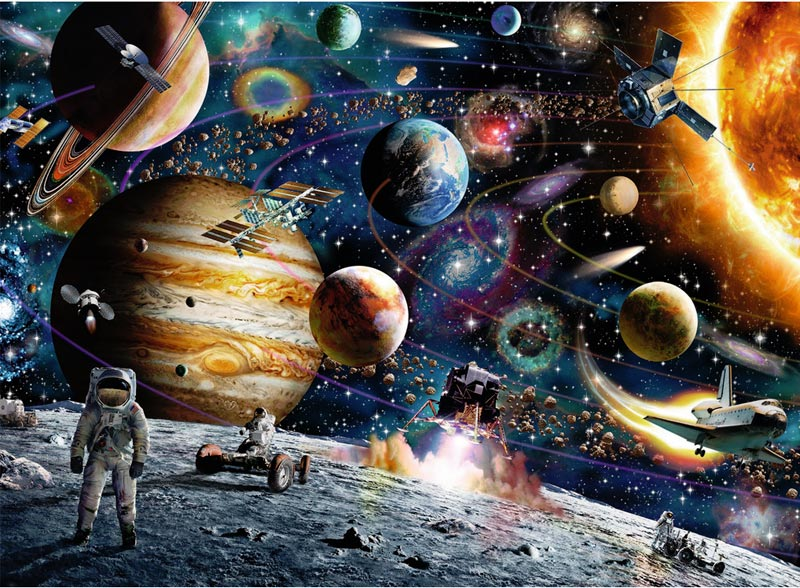 Outer Space Jigsaw Puzzle