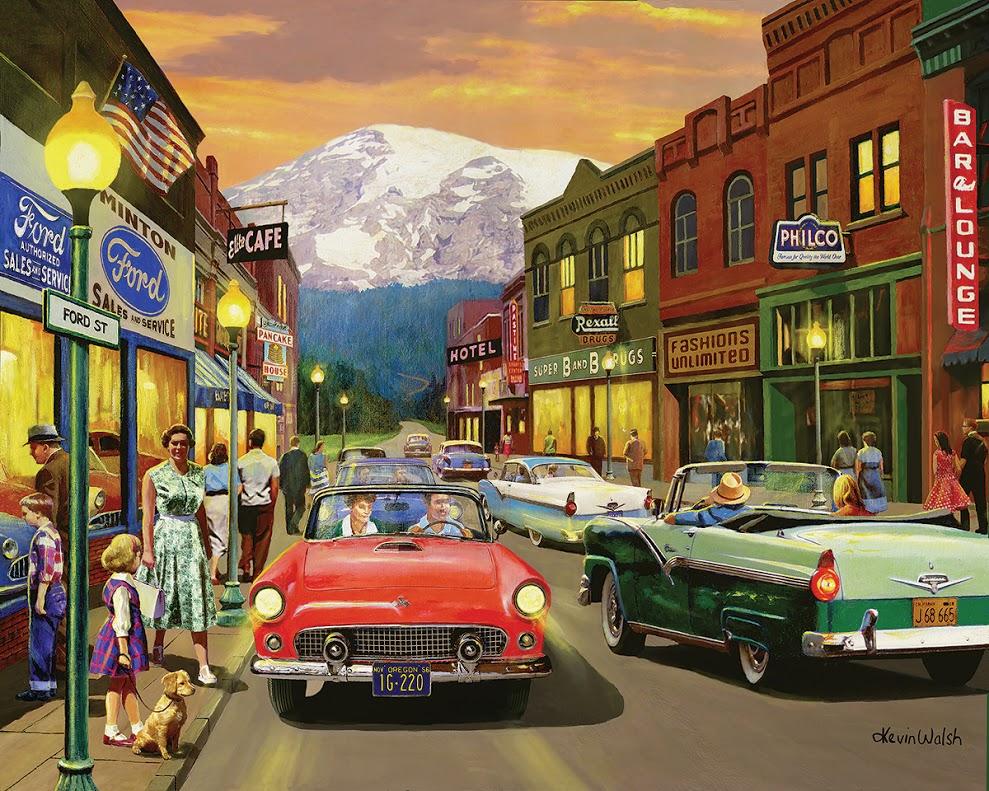 Kevin Walsh Art Jigsaw Puzzles