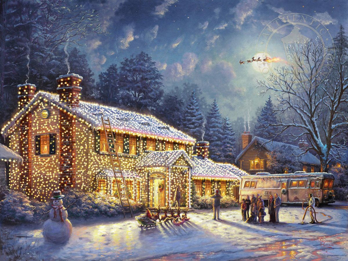 National Lampoons Christmas Vacation Jigsaw Puzzle