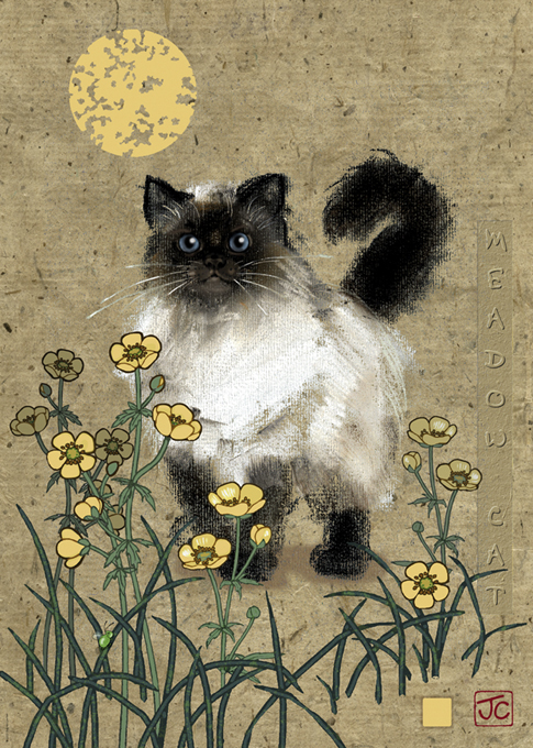 Meadow Cat Jigsaw Puzzle