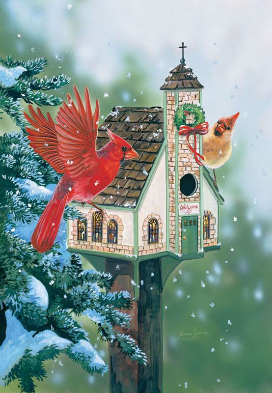 Welcome All Cardinals Jigsaw Puzzle