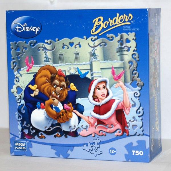 Disney Borders - Beauty And Beast Jigsaw Puzzle