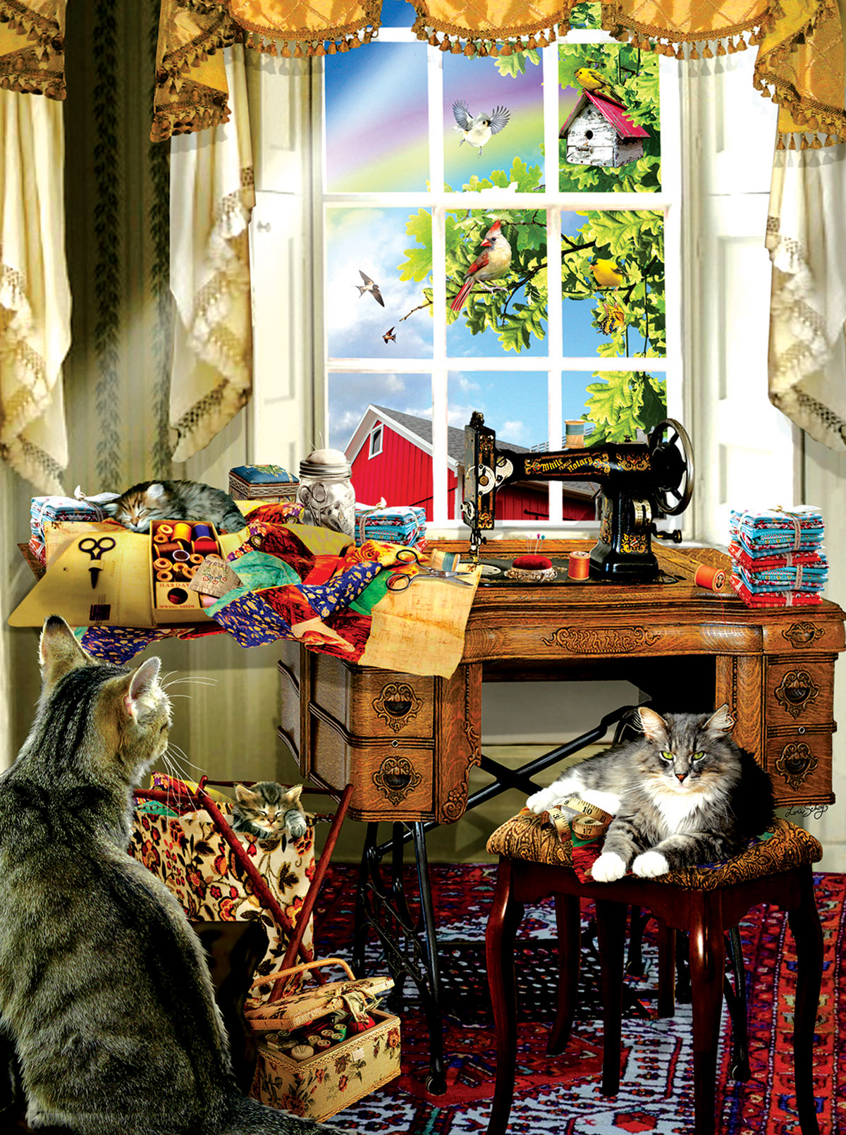 The Sewing Room Jigsaw Puzzle  PuzzleWarehousecom