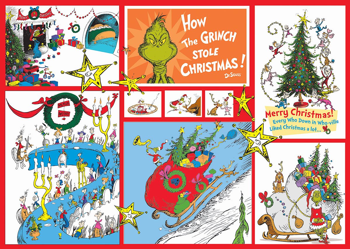 The Grinch Christmas Jigsaw Puzzle