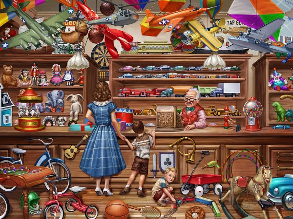 Vintage Toy Pca Jigsaw Puzzle